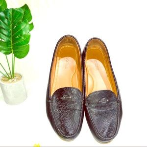 Coach loafer shoes. Black. Great condition. Sz 10